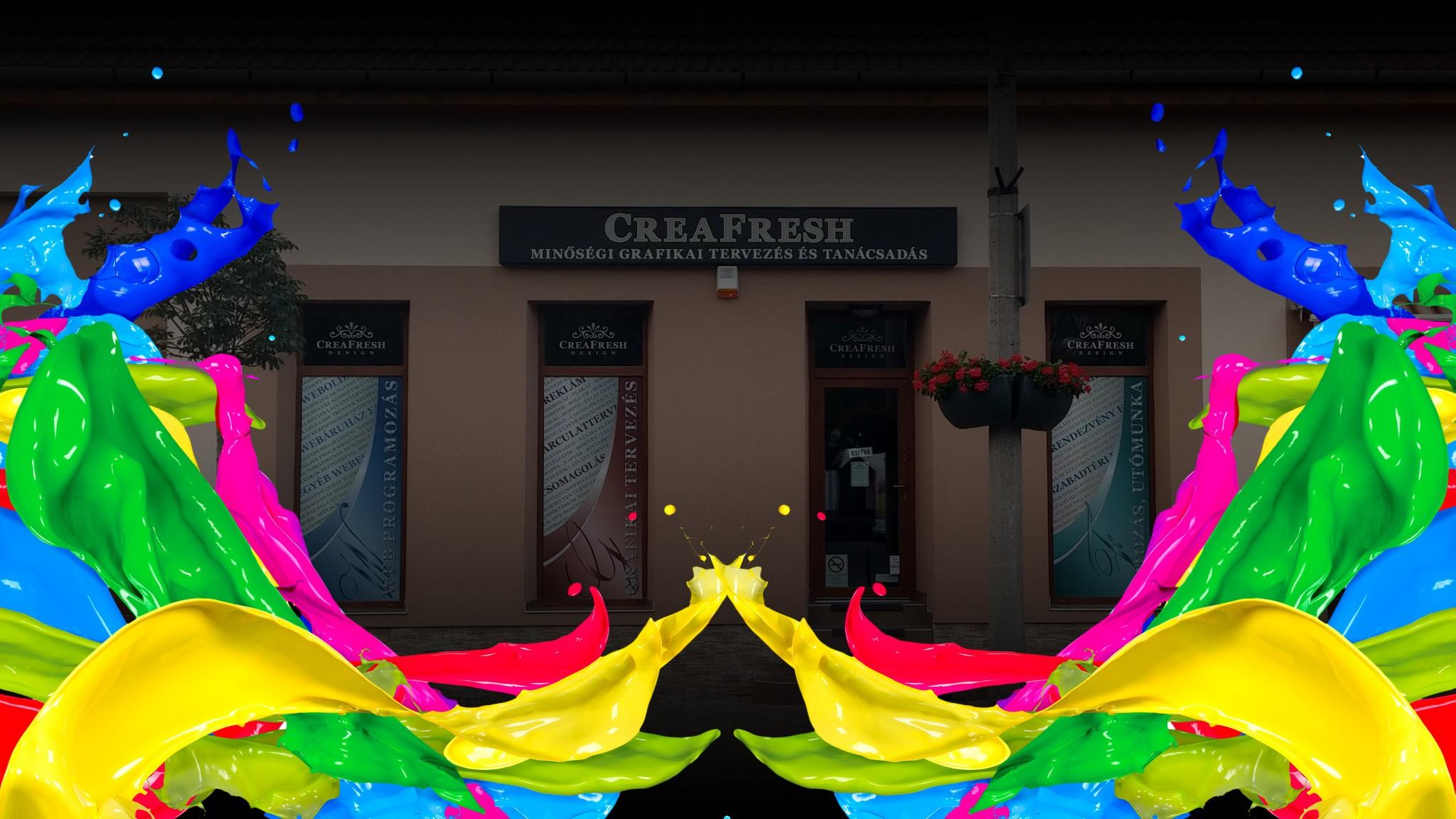 Üdvözöl a CreaFresh Design