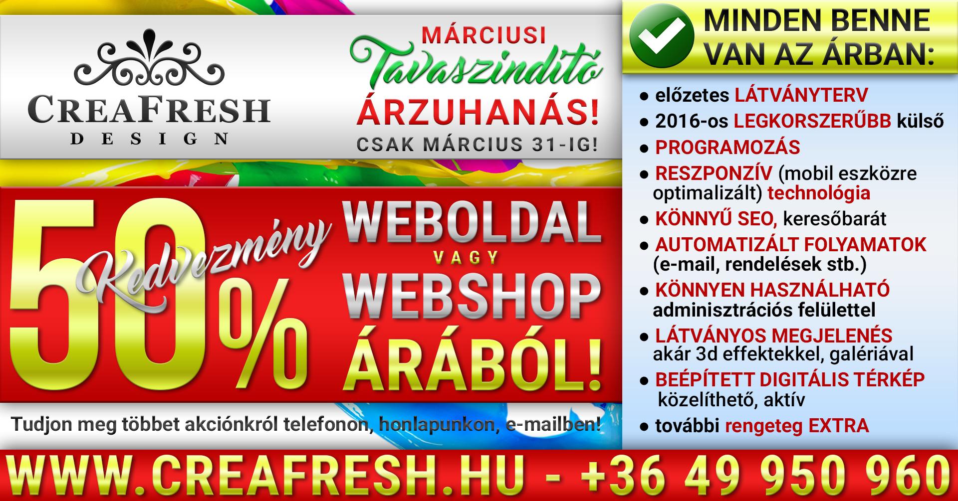 Webshopot vagy Weboldalt szeretnél? Akkor ezt KI NE HAGYD!